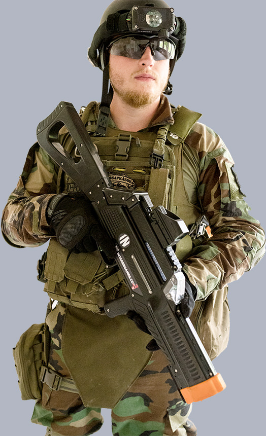 RAPTOR3 THE PROFESSIONAL WIRELESS LASER TAG EQUIPMENT
