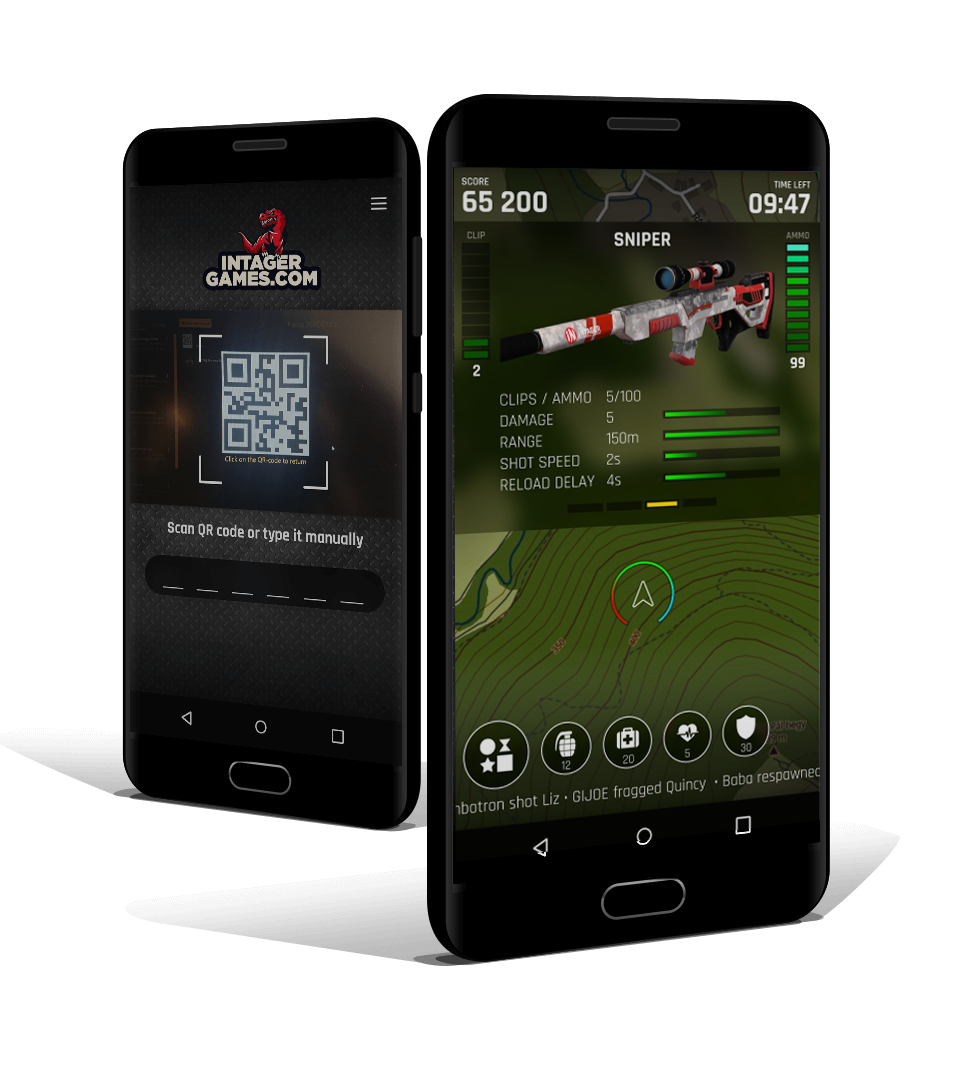Intager Smartbox3 Provides Standalone Laser Tag Game Experience