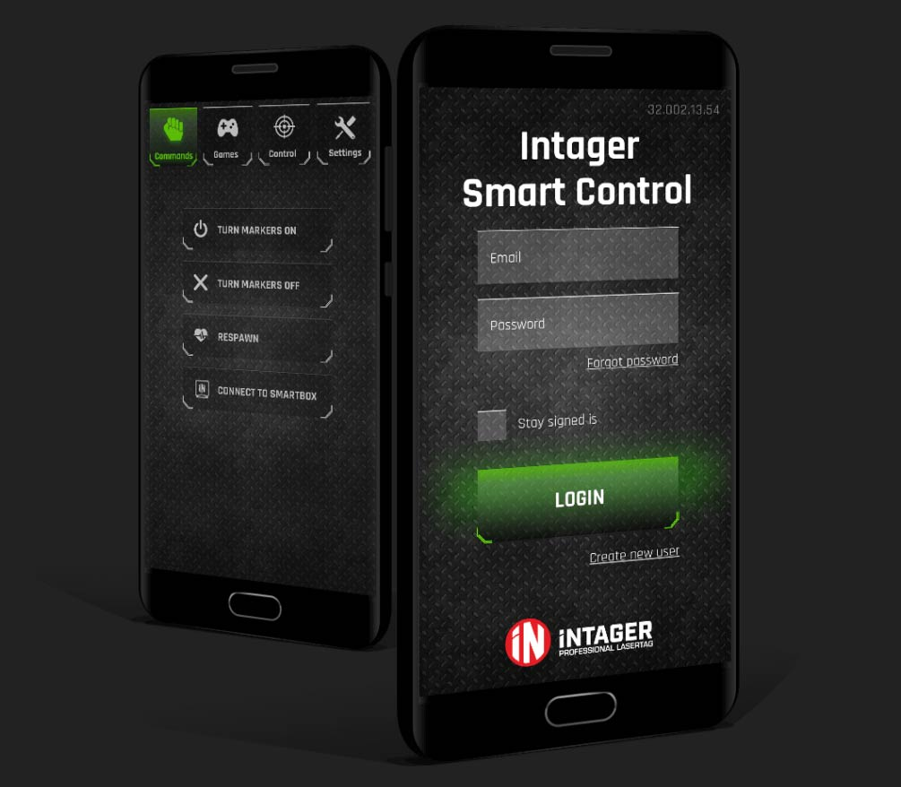 Intager smart control app