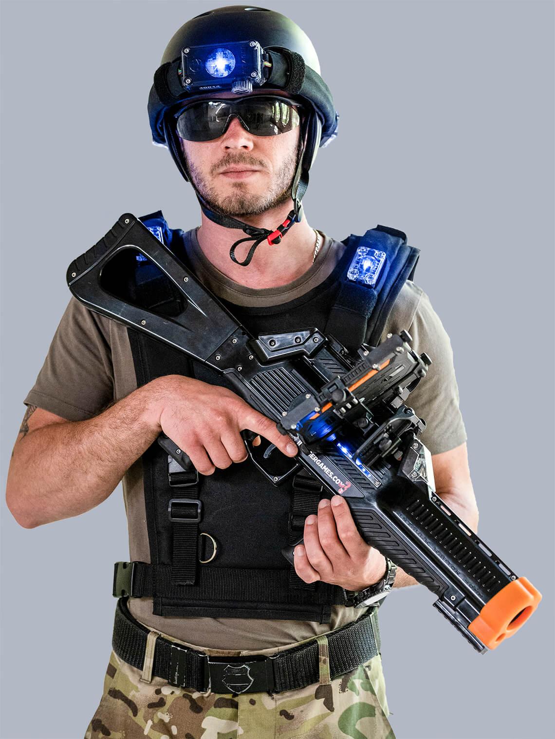 Profesionele lasergameset met vest