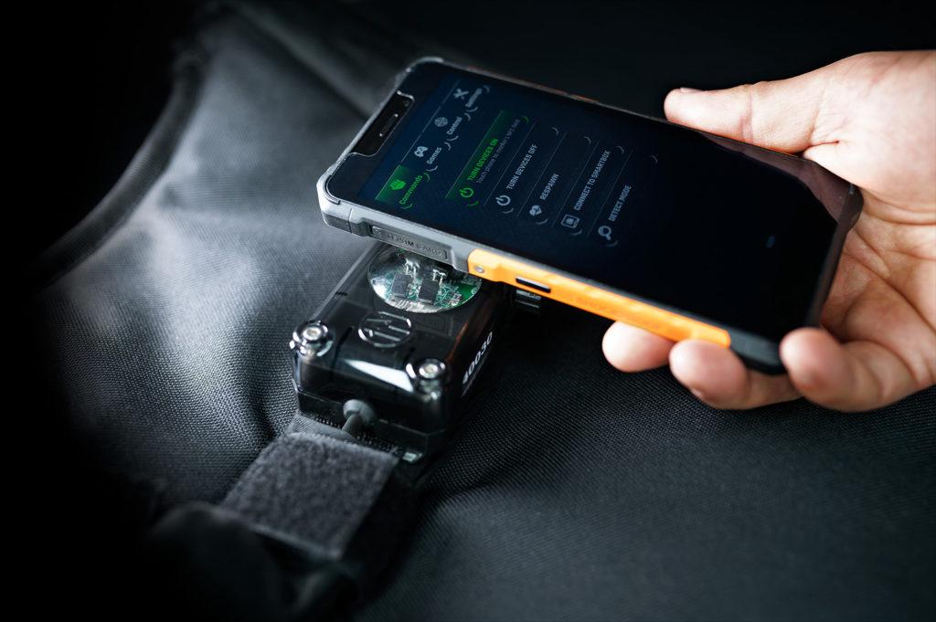NCF gebruiken met mobiele telefoon