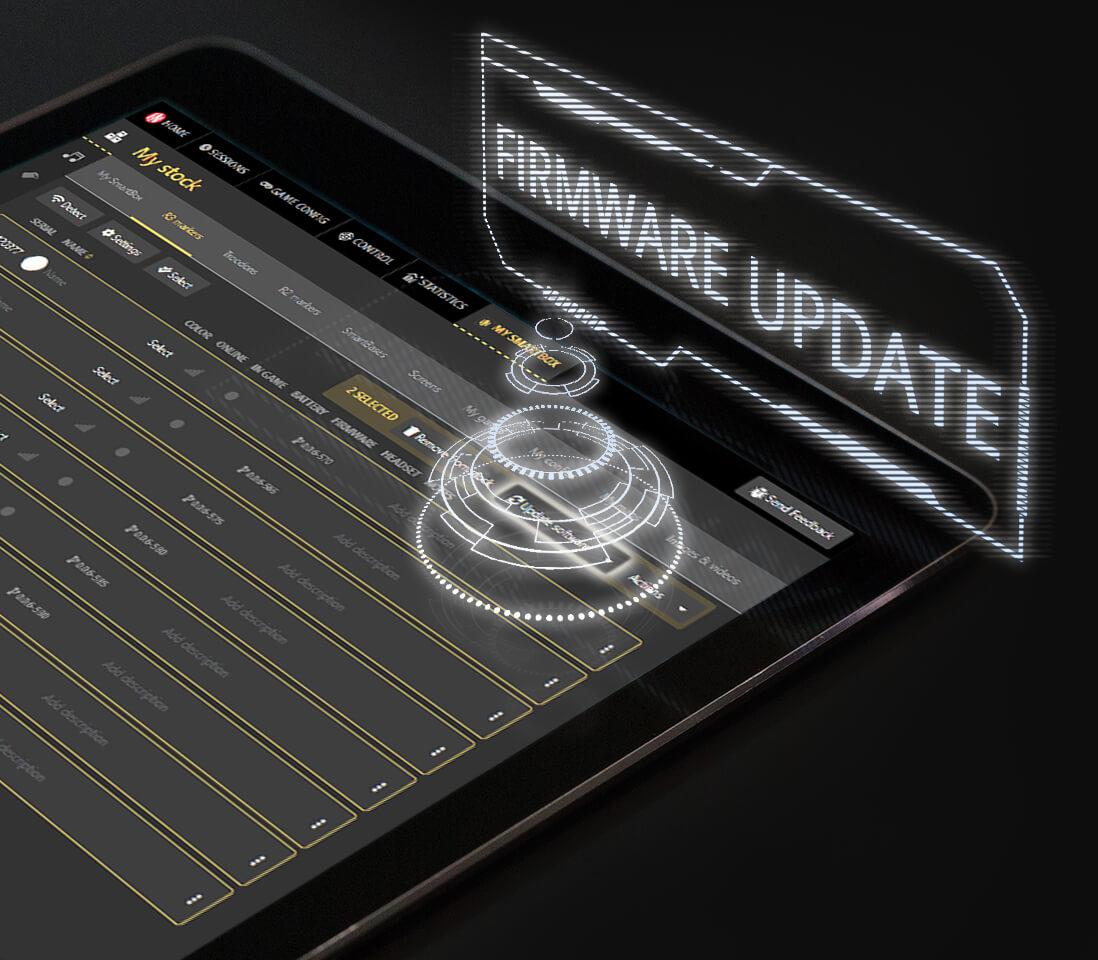 Intager Raptor3 Lasergame makkelijk firmware updaten