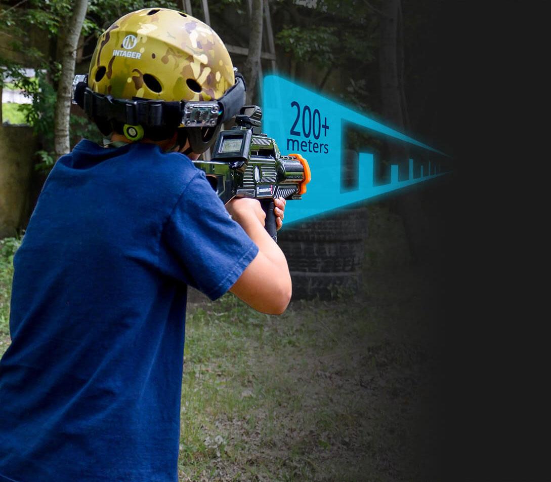 Intager Pro Lasergames met bereik 200 meter