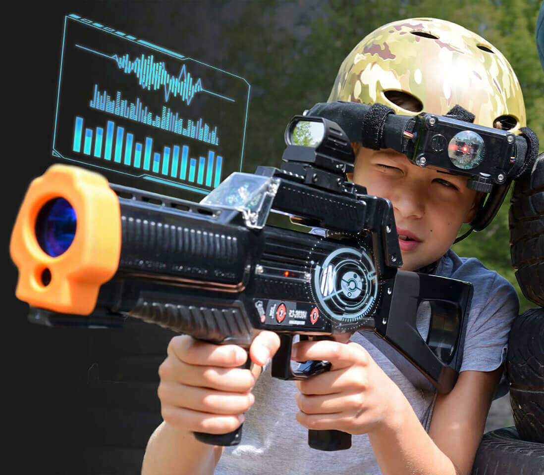 Intager Raptor3 Laser Tag Waterproof Speaker and Clear Sounds
