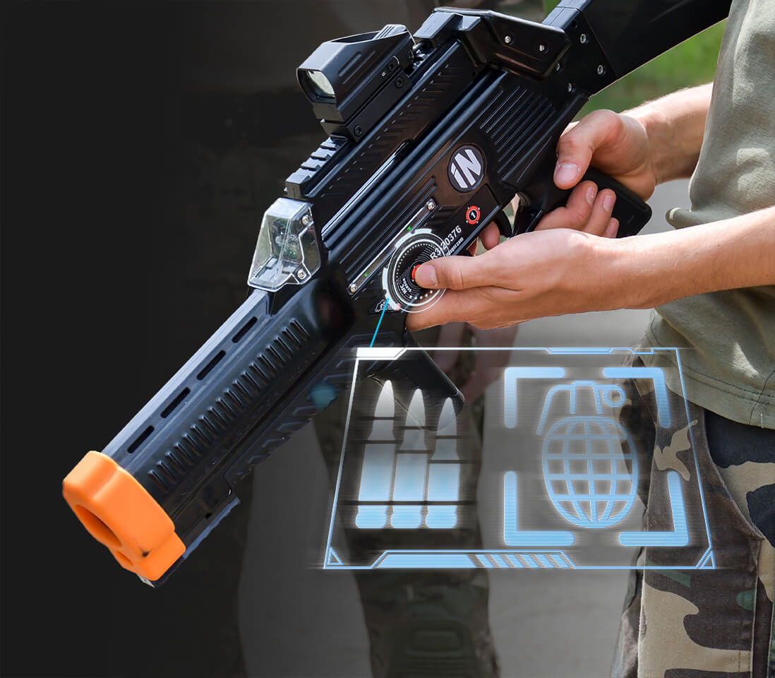 Intager Raptor3 Laser Tag secundaire shot