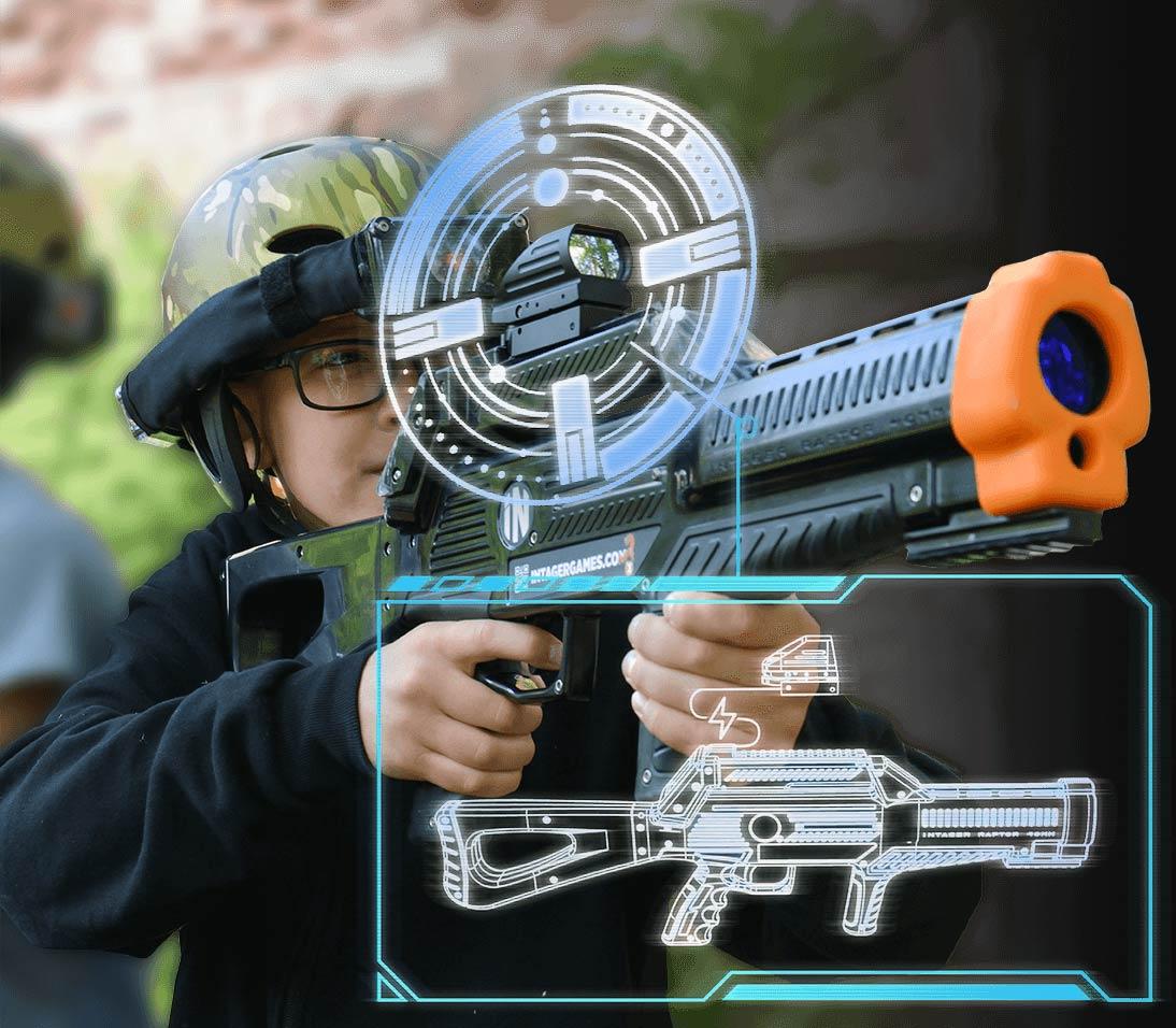 Intager Raptor3 Lasergame scope