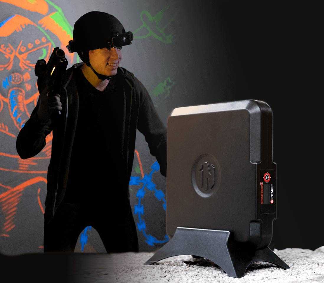 Smartbox3 Indoor Laser Tag Game Experience
