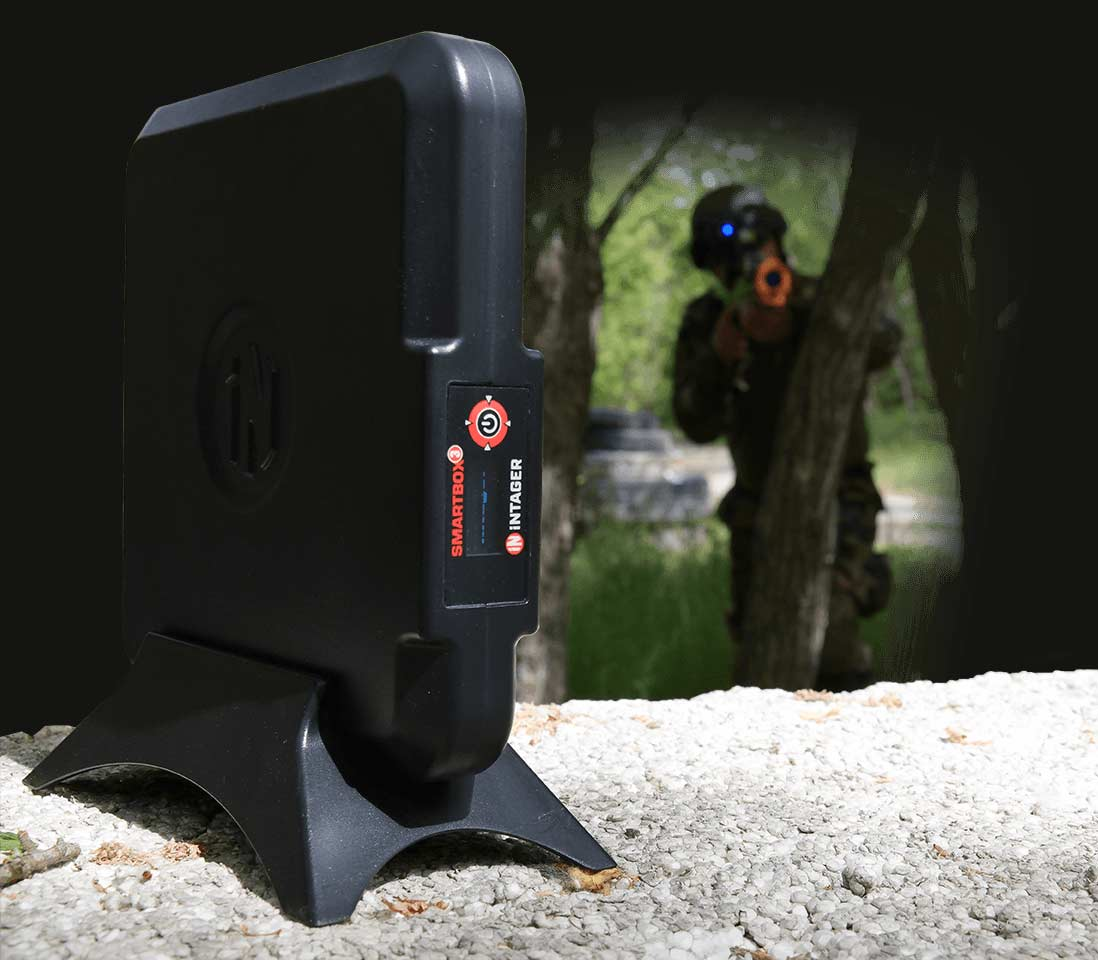 Smartbox3 Outdoor Laser Tag Game Experience